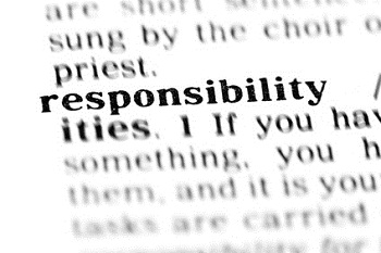 responsibility  (the dictionary project)
